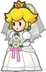 Princess Peach Wedding Dress
