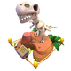 Deco Relic Dinosaur2