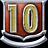 V badge Level10Badge