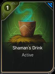 Shaman's Drink card
