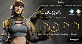 Gadget hover