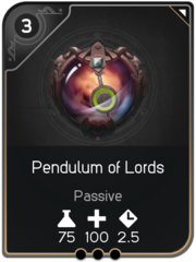 Pendulum of Lords card