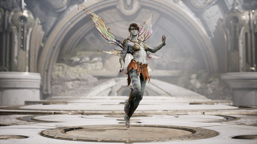 The Fey Challenger skin