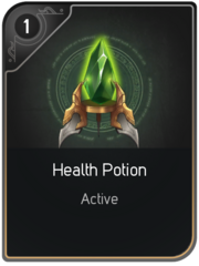 Health Potion card