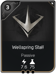 Wellspring Staff card