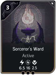 Sorceror's Ward card