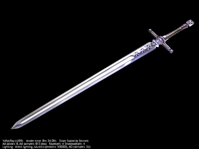 File:Silver sword by Sennek.png