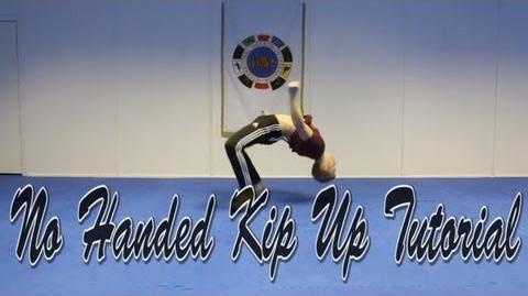 No Handed Kip Up Kick Up Tutorial