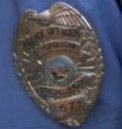 Pawnee Police Badge 2
