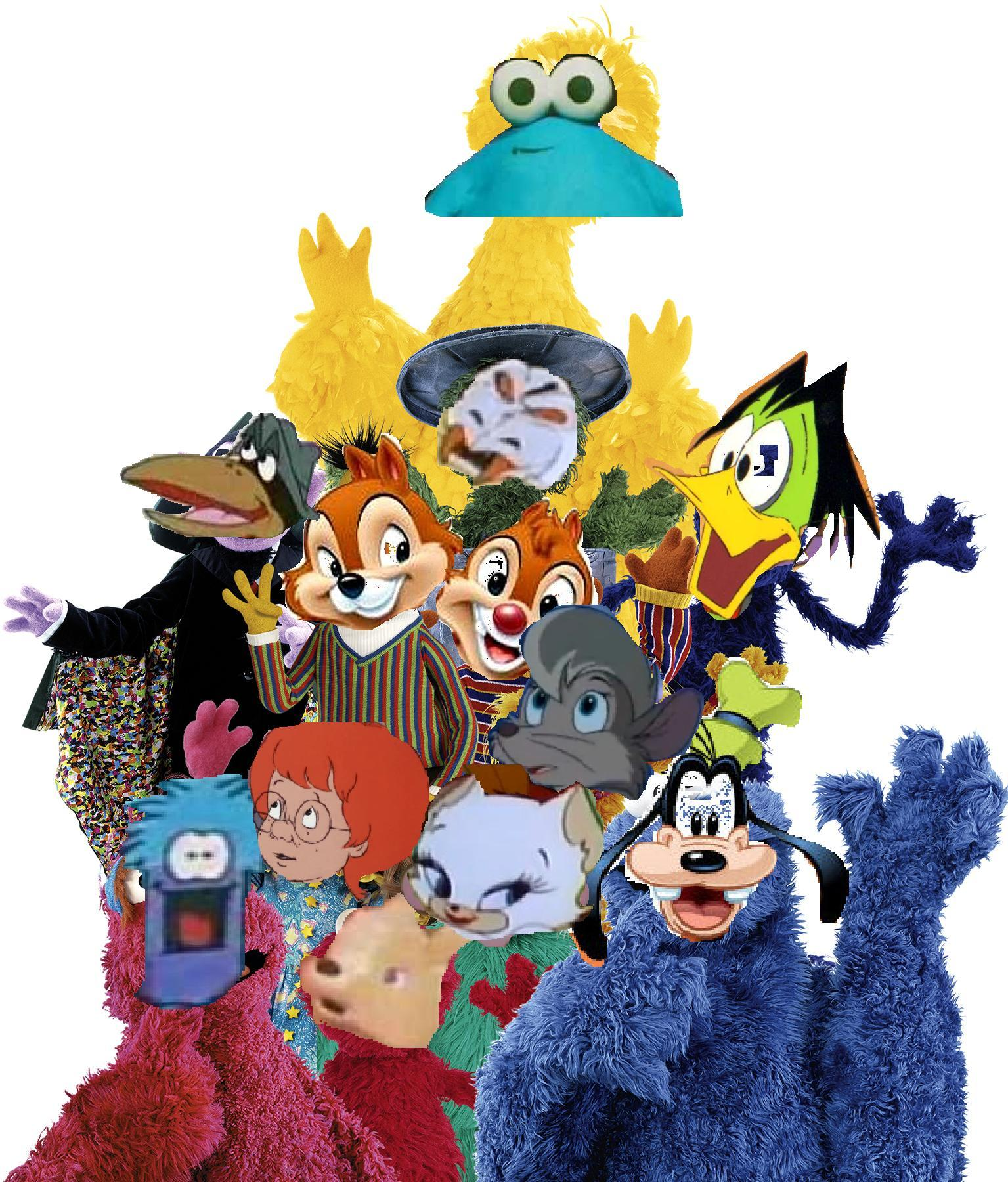 sesame street disney and sega style the parody wiki