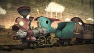 Barker the Train.