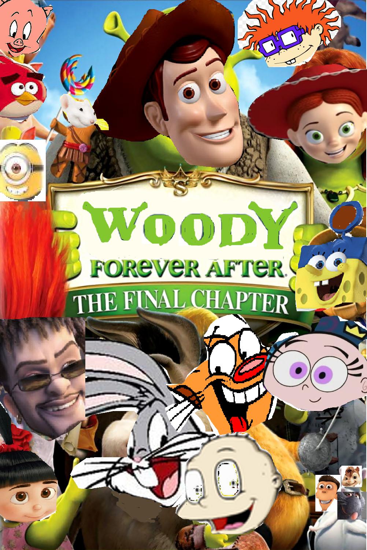 woody forever after  shrek forever after