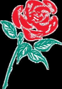 Labour-rose logo