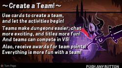 Create a Team!