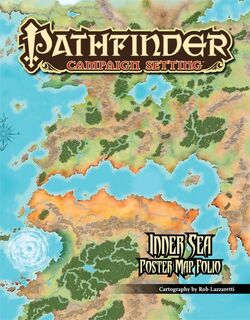 Inner Sea Poster Map Folio