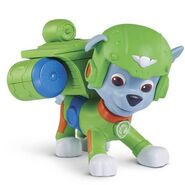 PAW Patrol Air Rescue Rocky, Pup Pack and Badge