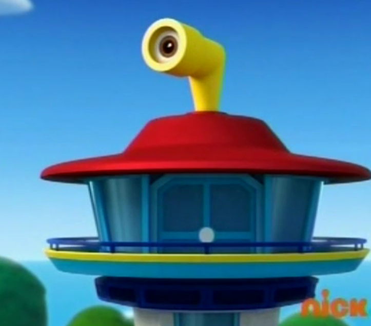 how to make a paw patrol lookout tower