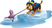 PAW Patrol Chase with the Baby Walrus Pup Winter 1
