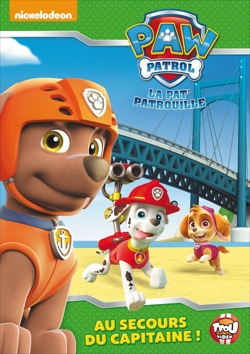 image paw patrol la pat 39 patrouille au secours du capitaine cap 39 n turbot paw patrol. Black Bedroom Furniture Sets. Home Design Ideas