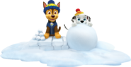 PAW Patrol Marshall and Chase Winter Snow