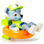 Paddlin Pups Bath Toy- Rocky
