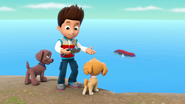 PAW Patrol Pups Raise the PAW Patroller Ryder, Zuma and Skye