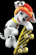 PAW Patrol Marshall Off Duty Skateboard