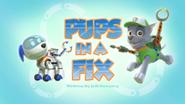 Pups in a Fix