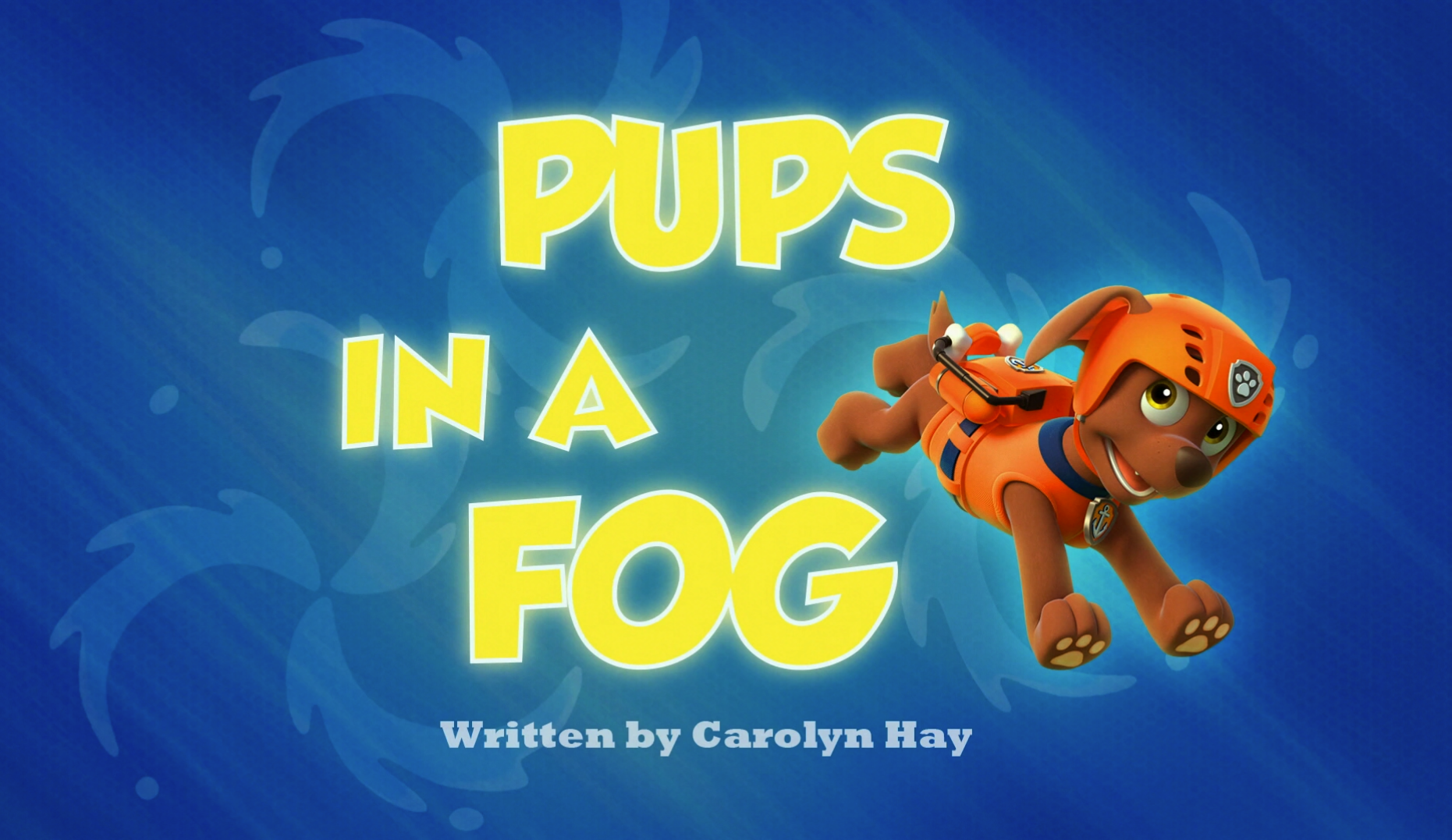 Pups In A Fog Paw Patrol Wiki Fandom Powered By Wikia
