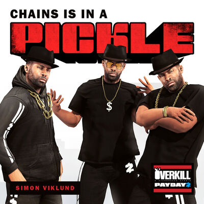 Chains is in a Pickle front cover