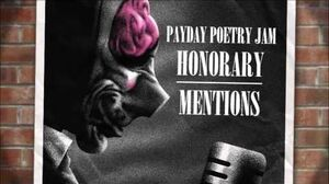 PAYDAY Poetry Jam - Honorary Mentions
