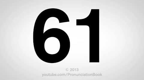 How to Pronounce 61-1