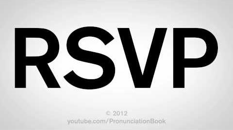 How to Pronounce RSVP