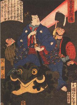 443px-Jiraya magicien Yoshitoshi
