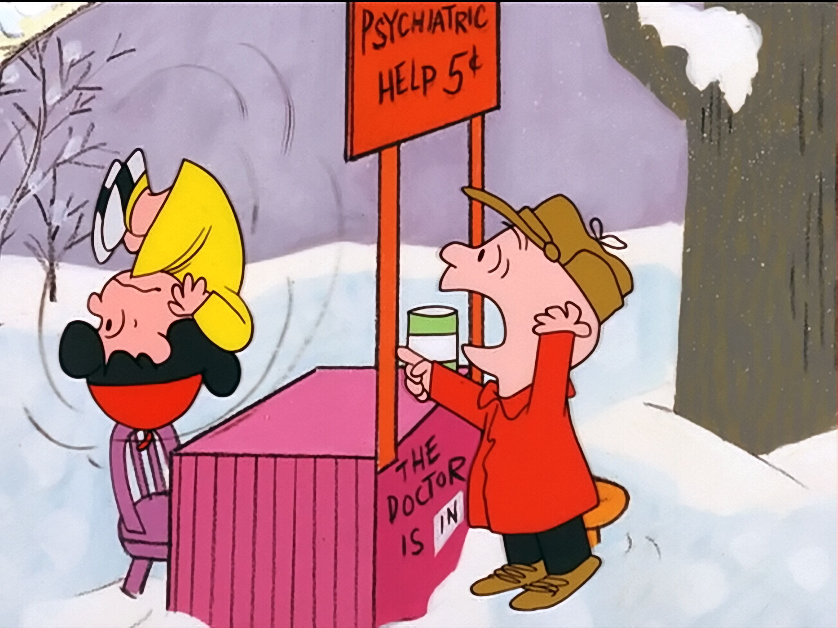 A Line from Linda: A Charlie Brown Christmas: It's Going to Run ...
