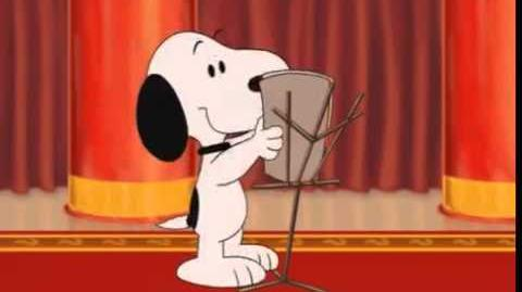 Cute snoopy metlife commercial