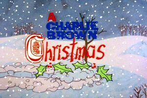 CharlieBrown X-mas titlecard