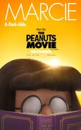 The Peanuts Movie Marcie poster