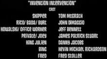 Invention-intervention-cast