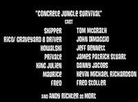 Concrete Jungle Survival cast