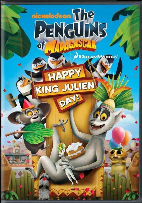 Happy King Julien Day DVD