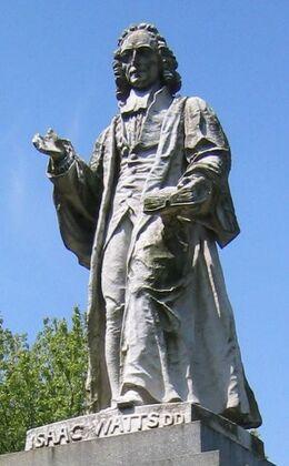 Southampton-IsaacWatts-Statue