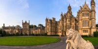 Harlaxton, Lincolnshire, England, UK