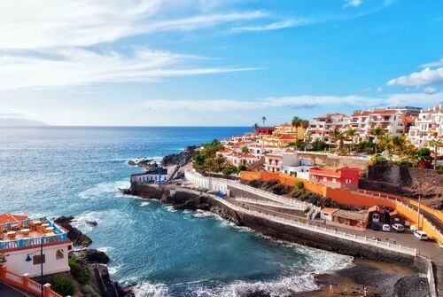 Gorgeous seaside town Tenerife