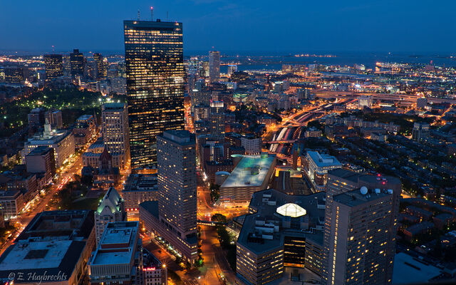 File:City lights in Boston.jpg