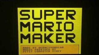 Super Mario Maker (Petit Computer Gameplay)