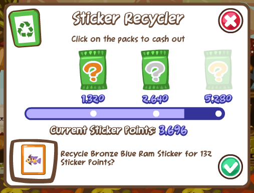 Recycling and revision slots