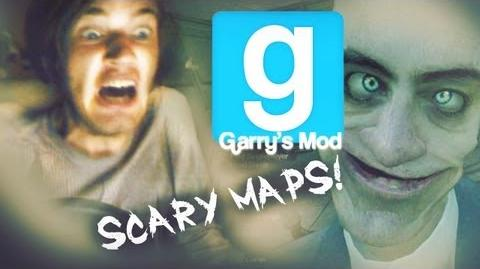 GIRLFRIEND SCARES ME WHILE PLAYING D - Pewds and Cry Plays Gmod Scary Maps - Part 1