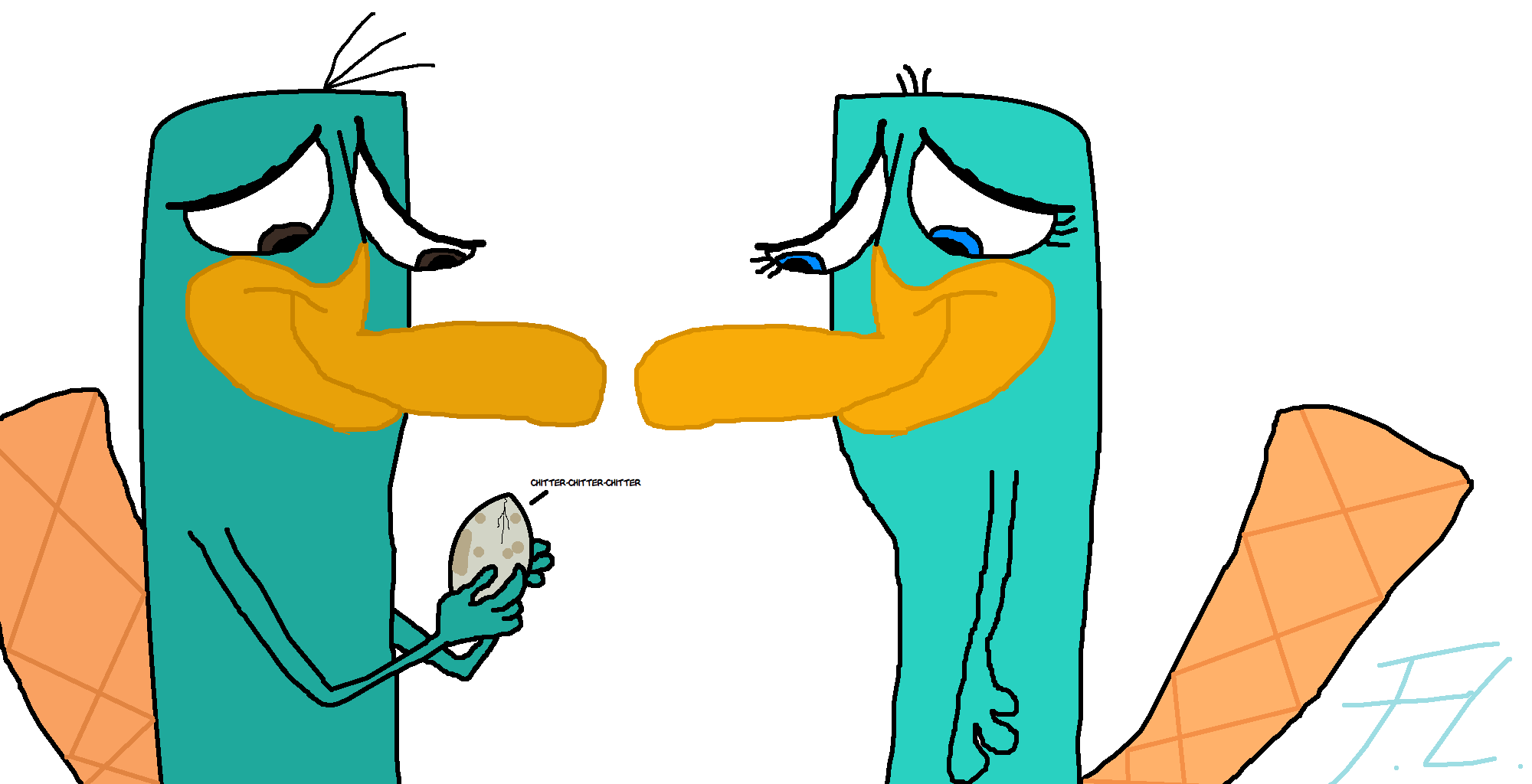 Perry the platypus phineas and ferb