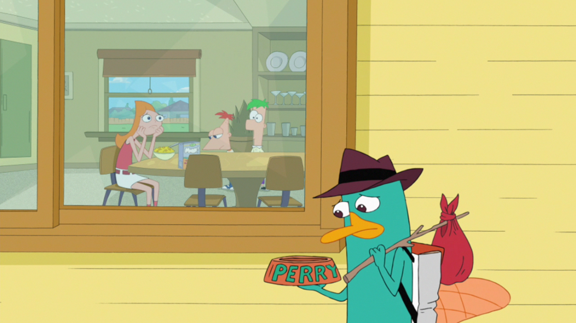Phineas And Ferb Perry And Dairy